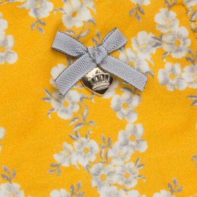 Imagem 2 do produto Vestido para bebe em tricoline Daisy - Mini & Classic - 1417657 VESTIDO REGATA TRICOLINE FLORAL AMARELO-M