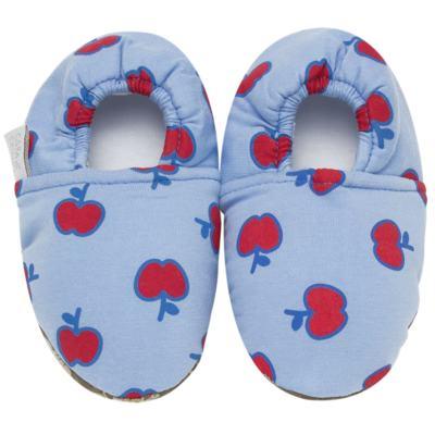 Imagem 1 do produto Pantufa Boneca para bebe de Neve - Cara de Criança - 1367-LULI DE NEVE P PANTUFA M/MALHA-27/28