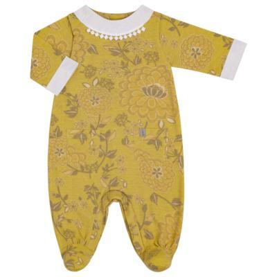 Imagem 1 do produto Macacão com golinha para bebe em malha Spring Garden - Green - G5100810.300 MACACAO PAZ G AMARELO-P