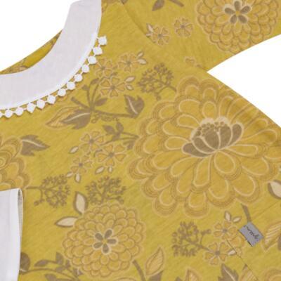 Imagem 2 do produto Macacão com golinha para bebe em malha Spring Garden - Green - G5100810.300 MACACAO PAZ G AMARELO-M