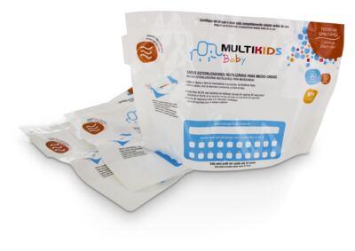 Imagem 1 do produto Saquinhos para Esterilizar No Microondas 6Pcs Multikids Baby - BB157