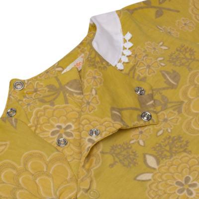 Imagem 3 do produto Macacão com golinha para bebe em malha Spring Garden - Green - G5100810.300 MACACAO PAZ G AMARELO-RN