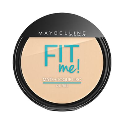 Imagem 1 do produto Maybelline Pó Compacto Mate + Toque Liso Fit Me! Cor 000 Translúcido Essencial