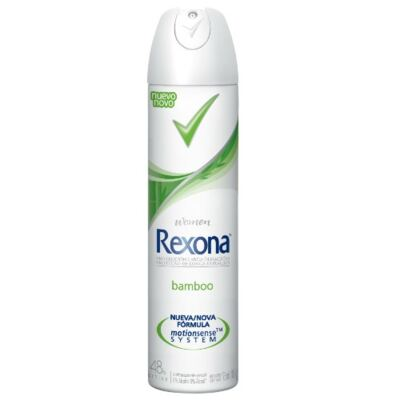 Imagem 2 do produto Kit Desodorante Aerosol Rexona Feminino Bamboo 105g 3 Unidades