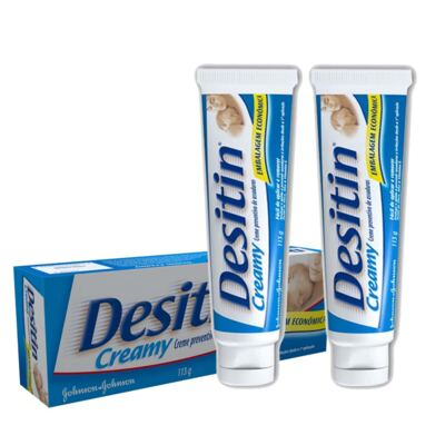 Imagem 1 do produto Kit Desitin Creamy Creme para Assaduras 113g 2 Unidades
