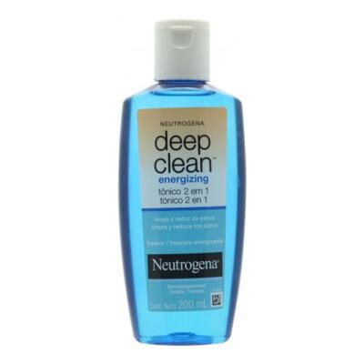Imagem 3 do produto Tônico 2 em 1 Energizing Neutrogena Deep Clean 200ml + Neutrogena Sabonete Facial Deep Clean Energizante 80g