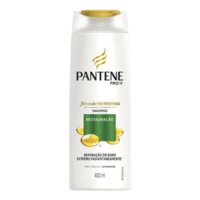 Imagem 2 do produto Kit Pantene Restauração Shampoo 400ml + Condicionador 400ml