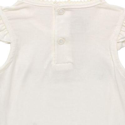 Imagem 4 do produto Blusinha com Calcinha Saia para bebe em viscolycra Butterflies - Baby Classic - 20521628 BLUSINHA M/C C/ SAIA VISCOLYCRA BUTTERFLY -GG