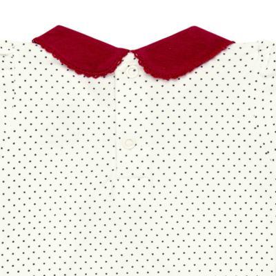 Imagem 3 do produto Body curto para bebe em cotton algodão egípcio Love Cute - Mini & Kids - BDGC0001.233 BODY M/C C/GOLA - COTTON-GG