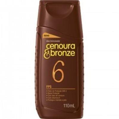 Imagem 2 do produto Kit Protetor Solar Cenoura & Bronze FPS 30 200ml + Óleo Bronzeador FPS 6 110ml