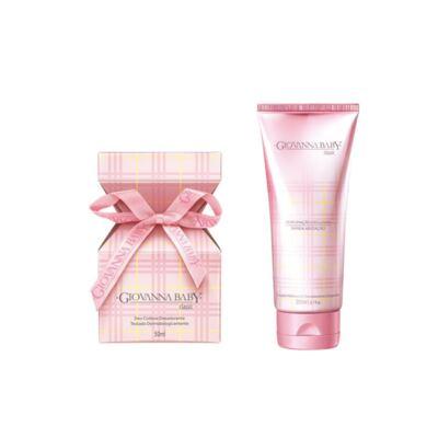 Imagem 1 do produto Deo Colônia Giovanna Baby Rosa 50ml + Loção Hidratante Giovanna Baby Classic 200ml