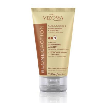 Imagem 2 do produto Shampoo Vizcaya Blonde Action 200ml + Condicionador Vizcaya Blonde Action 150ml