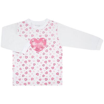 Imagem 2 do produto Blusão com Calça para bebe moletom Amour - Vicky Lipe