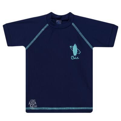 Imagem 2 do produto Conjunto de Banho Laguna: Camiseta surfista + Sunga - Cara de Criança - KIT 1 2576: SB2576 + CSA2576 SUNGA E CAMISETA PRANCHA BLUE-4