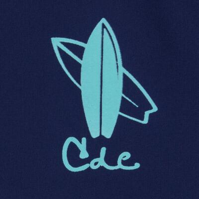 Imagem 3 do produto Conjunto de Banho Laguna: Camiseta surfista + Sunga - Cara de Criança - KIT 1 2576: SB2576 + CSA2576 SUNGA E CAMISETA PRANCHA BLUE-4