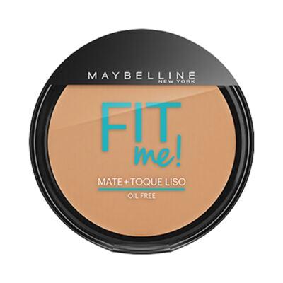 Imagem 1 do produto Maybelline Pó Compacto Mate + Toque Liso Fit Me! Cor 200 Médio Único