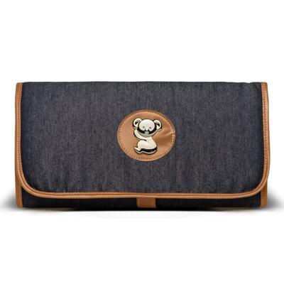 Imagem 5 do produto Bolsa Passeio para bebe + Bolsa +  Frasqueira Térmica Gold Coast + Porta Mamadeira + Trocador + Necessaire Adventure Jeans - Classic for Baby Bags