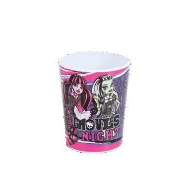 Imagem 3 do produto Kit Alimentação Monster High Contém Copos, Talher, Prato e Squeeze