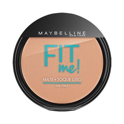 Imagem 1 do produto Maybelline Pó Compacto Mate + Toque Liso Fit Me! Cor 150 Claro Especial