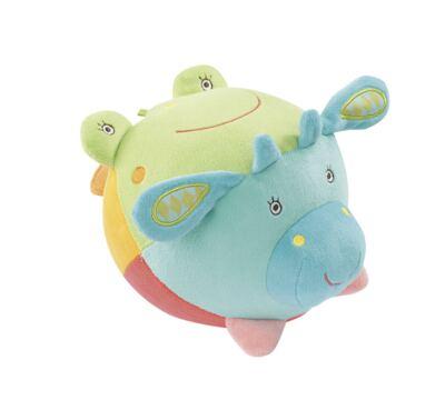 Imagem 1 do produto Baby Fehn - Bola de Atividades com Som de Animais - BR314