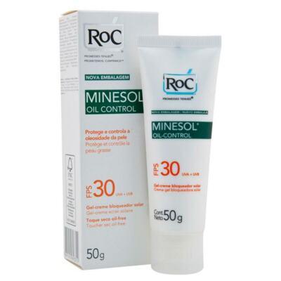 Imagem 2 do produto Roc Minesol Kit Protetor Solar Oil Control FPS30 50g 2 Unidades