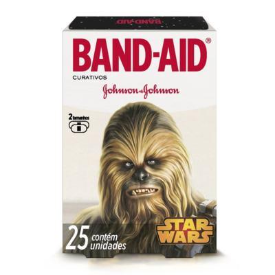 Imagem 3 do produto Curativo Band-Aid Star Wars Johnson´s 25 Unidades
