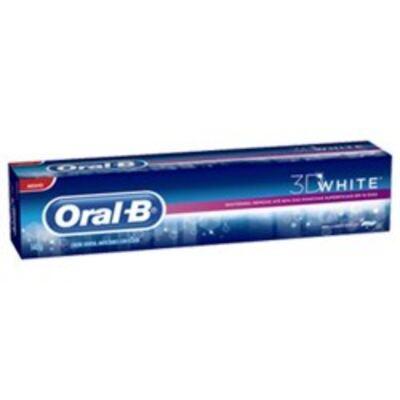 Imagem 1 do produto Creme Dental Oral-B 3D White Brilliant Fresh 140g