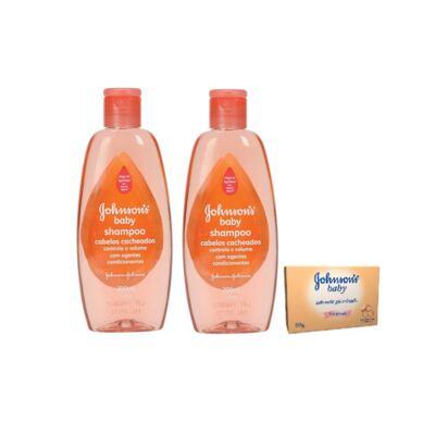 Imagem 1 do produto Shampoo Johnson´s Baby 200ml 2 Unidades + Sabonete Johnson´s