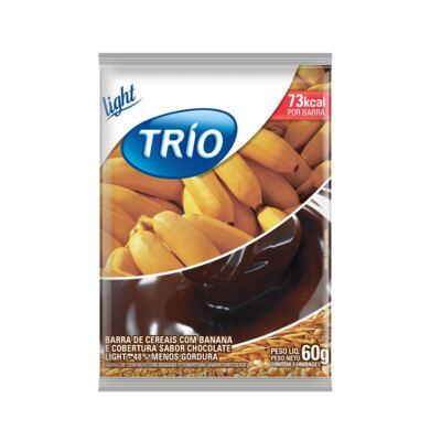 Imagem 1 do produto Barra de Cereais Trio Banana Aveia e Mel Light 20g 3 Unidades