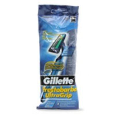 Imagem 1 do produto Aparelho de Barbear Gillette Prestobarba Ultragrip C/ 5 Unidades