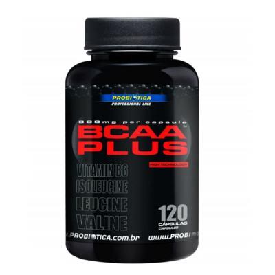 Imagem 1 do produto BCAA Plus 800g Probiótica 120 Cápsulas