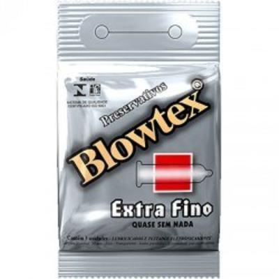 Imagem 1 do produto Preservativo Blowtex Extra Fino 3 Unidades