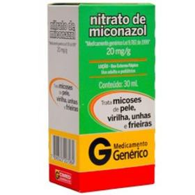 Loção Nitrato de Miconazol CIMED Genérico Cimed - 20mg/g | 30g