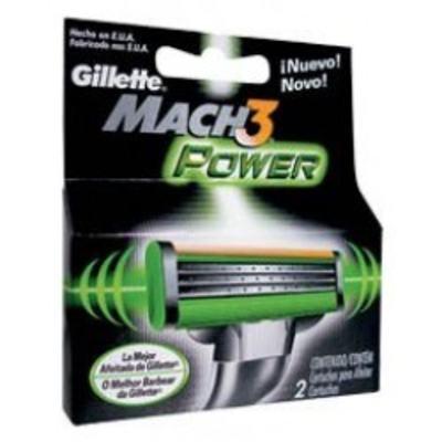 Imagem 1 do produto Carga Gillette Mach3 Power 2 Unidades