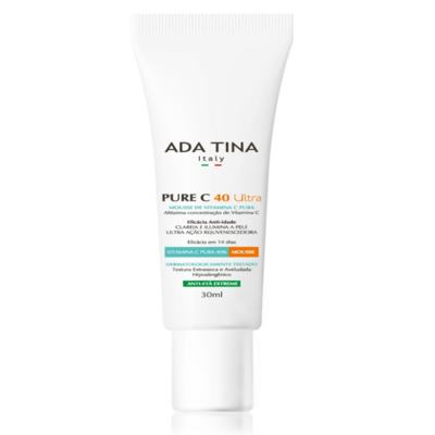 Mousse Anti-Idade Ada Tina Pure - C 40 Ultra | 30mL