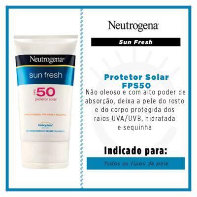Imagem 2 do produto Protetor Solar Neutrogena Sun Fresh FPS50 - 120ml