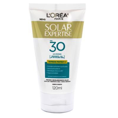 Protetor Solar Expertise Creme Supreme Protect 4 - Fps30   120ml