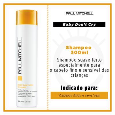 Imagem 2 do produto Paul Mitchell Baby Don´t Cry - Shampoo - 300ml