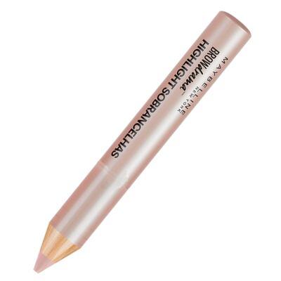Imagem 3 do produto Lápis Iluminador para Sobrancelha Maybelline Brow Drama - Nude perolado