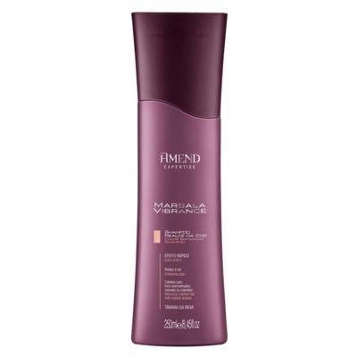 Imagem 1 do produto Shampoo Amend Realce da Cor Marsala Vibrance 250ml