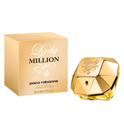Imagem 2 do produto Lady Million Paco Rabanne - Perfume Feminino - Eau de Parfum - 80ml