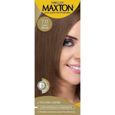 Tintura Maxton Kit 7.0 Louro Natural