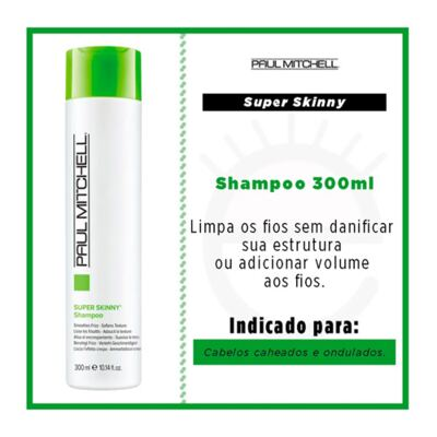 Imagem 2 do produto Paul Mitchell Smoothing Super Skinny Daily - Shampoo Disciplinador - 300ml