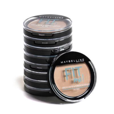 Imagem 4 do produto Fit Me! Maybelline - Pó Compacto para Peles Médias - 210 - Médio Verdadeiro