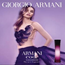 Armani Code Cashmere Giorgio Armani - Perfume Feminino - Eau de Parfum - 50ml