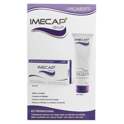 Imecap Cellut Kit Creme + 60  Cápsulas