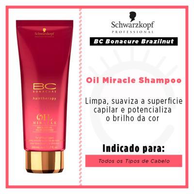 Imagem 2 do produto Schwarzkopf BC Bonacure Oil Miracle Brazilnut - Shampoo - 200ml