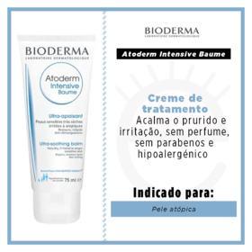 Atoderm Intensive Baume Bioderma - Creme de tratamento - 75ml