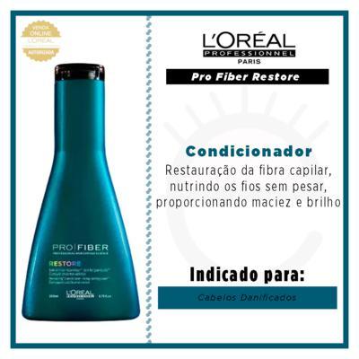 Imagem 4 do produto L'Oréal Professionnel Pro Fiber Restore - Condicionador - 200ml