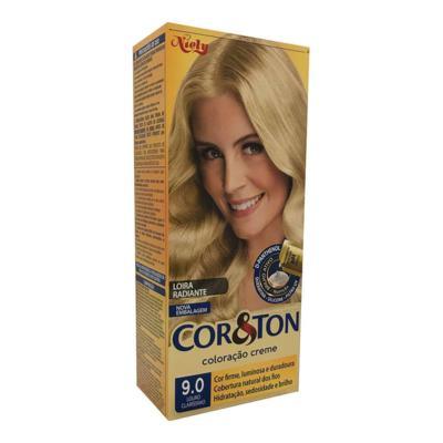 Imagem 1 do produto Coloração Creme Cor & Ton Niely Louro Claríssimo 9.0